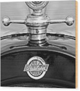 1922 Studebaker Touring Hood Ornament 3 Wood Print