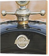 1922 Studebaker Touring Hood Ornament Wood Print by Jill Reger
