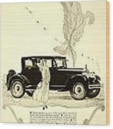 1924 - Rickenbacker Automobile Advertisement Wood Print