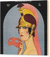 1924 - Theatre Magazine Cover - Color Wood Print