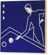 1925 Akatsuki Billiards Of Japan Wood Print