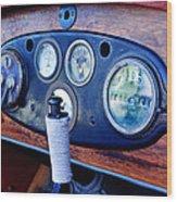 1925 Stutz Series 695h Speedway Six Torpedo Tail Speedster Dashboard Instruments Wood Print