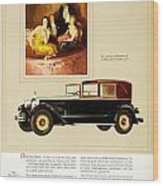 1926 - Packard Automobile Advertisement - Color Wood Print