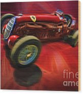 1926 Delage Grand Prix Car  Alfa-romeo  Wood Print