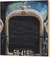 1926 Dodge In Astoria Oregon Wood Print