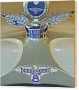 1926 Duesenberg Model A Boyce Motometer Wood Print