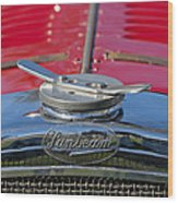1926 Sunbeam Tiger Hood Emblem Wood Print