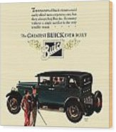 1927 - Buick Automobile - Color Wood Print