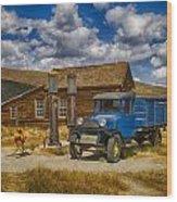 1927 Dodge Braham Bodie Ca Color Img 7299 Wood Print