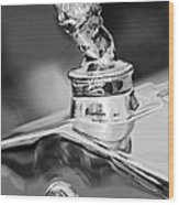 1927 Franklin Sedan Hood Ornament 2 Wood Print by Jill Reger