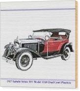 1927 La Salle Dual Cowl Phaeton Wood Print