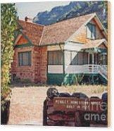 1927 Pendley Homestead House Sedona Wood Print