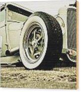 1928 Ford Model A Hot Rod Wood Print