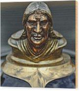 1928 Pontiac Hood Ornament  Wood Print