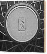1928 Rolls-royce Spoke Wheel Wood Print