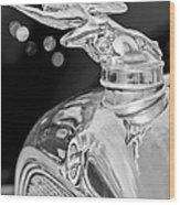 1928 Studebaker Hood Ornament 3 Wood Print
