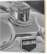 1929 Auburn 8-90 Speedster Hood Ornament 2 Wood Print by Jill Reger