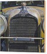 1929 Duesenberg Model J Convertible - Barn Fresh Wood Print