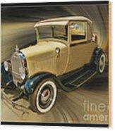 1929 Ford Wood Print