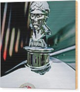 1929 Minerva Hood Ornament Wood Print