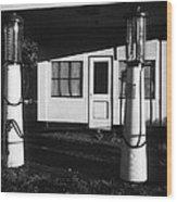 1929 Ralph's Service Station Armory Park Tucson Arizona Wood Print