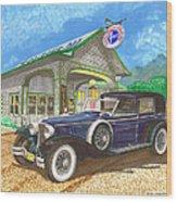 1930 Cord L Towncar Wood Print