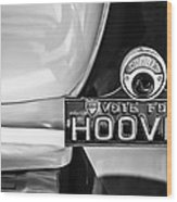 1930 Db Dodge Brothers Taillight Emblem -030bw Wood Print