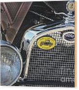 1930 Ford Model A - Front End - 7497 Wood Print