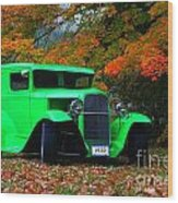 1930 Ford Sedan Delivery Truck  Wood Print
