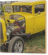 1930 Model A Coupe Wood Print
