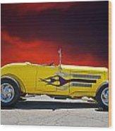 1930 Model A Roadster IIi Wood Print