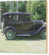 1930 Model-a Town Car 1 Wood Print