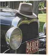 1930 Model-a Town Car 2 Wood Print