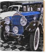 1930 Packard Limousine Wood Print