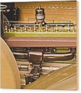 1930 Packard Speedster Runabout Engine -0539c Wood Print