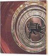 1930 Ruxton Wheel Wood Print