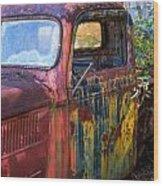 1930s Pickup Truck Wood Print