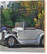 1931 Ford 'model A' Roadster Wood Print