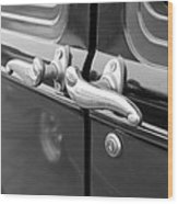 1931 Ford Model T Door Handles Wood Print