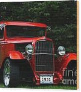 1931 Ford Panel Delivery Truck  Wood Print