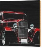1931 Ford Panel Truck 2 Wood Print