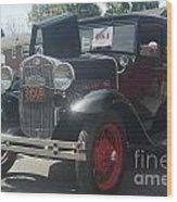 1931 Ford Sedan Wood Print