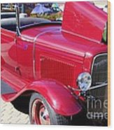 1931 Ford With Rumble Seat Wood Print