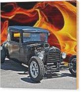 1930 Hudson Coupe I Wood Print