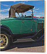 1931 Model T Ford Wood Print by Steve Harrington