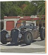 1931 Rataoulle 'rat Rod' Wood Print