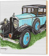 1931 Studebaker President Wood Print