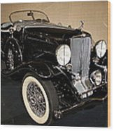 1932 Auburn Boattail Speedster Wood Print