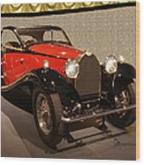 1932 Bugatti - Featured In 'comfortable Art' Group Wood Print