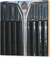 1932 Chrysler Hood Ornament Wood Print